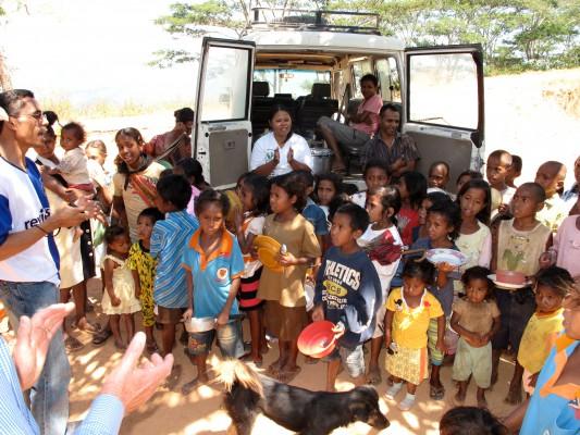 Mobile Feeding Program for Children