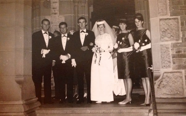 Jill and Harold Rich married in St Canice's 15 April 1963