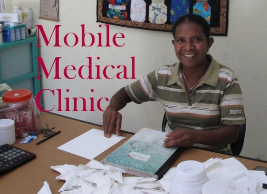 'Packing the pills' for the Mobile Medical Clinic