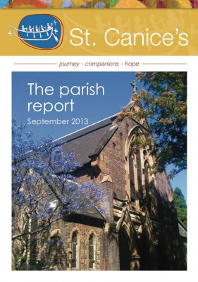 Parish Report Front Page Sep 2013