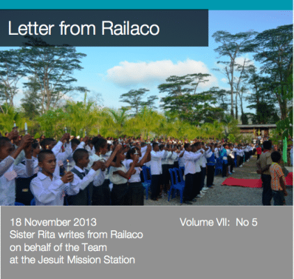 Letter from Railaco 5