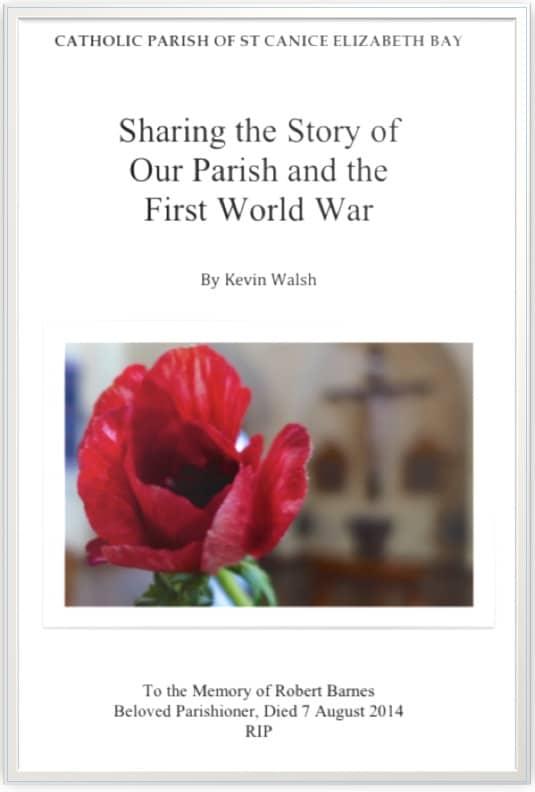 Anzac Brochure Cover
