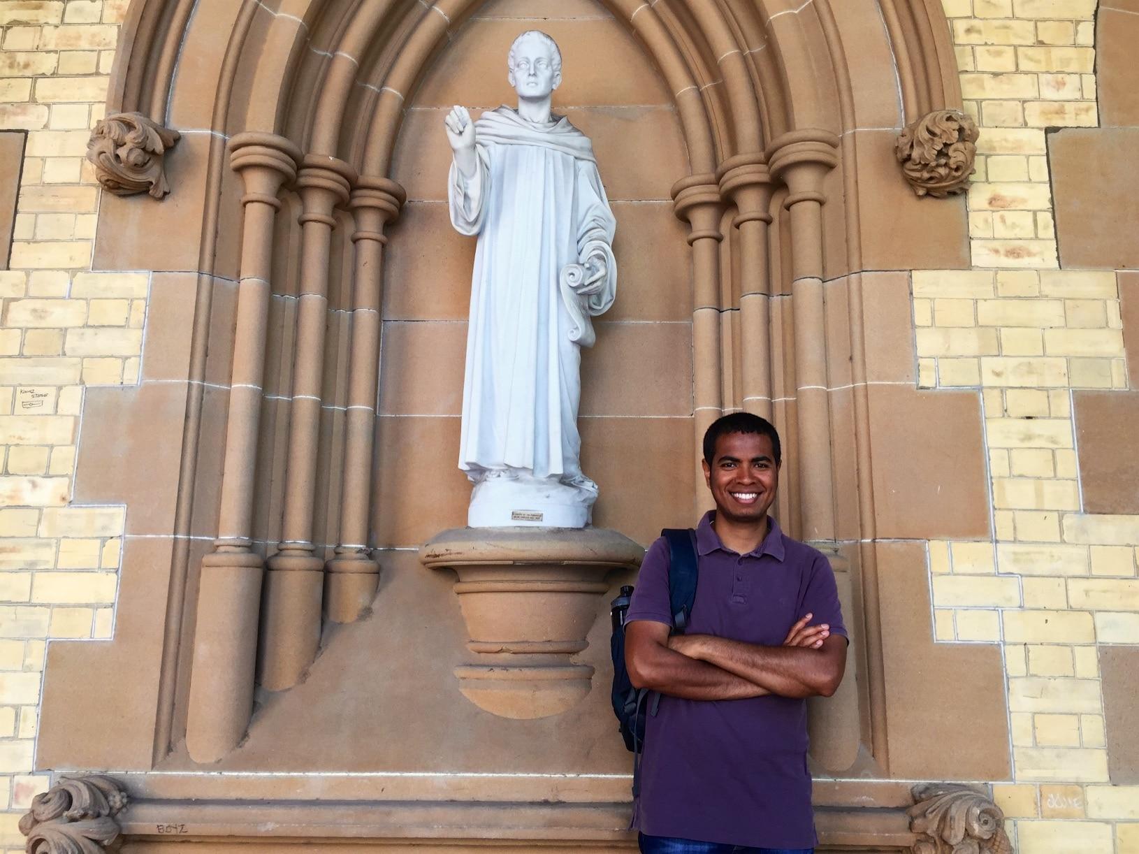 East Timorese Jesuit Scholastic - 'JP'