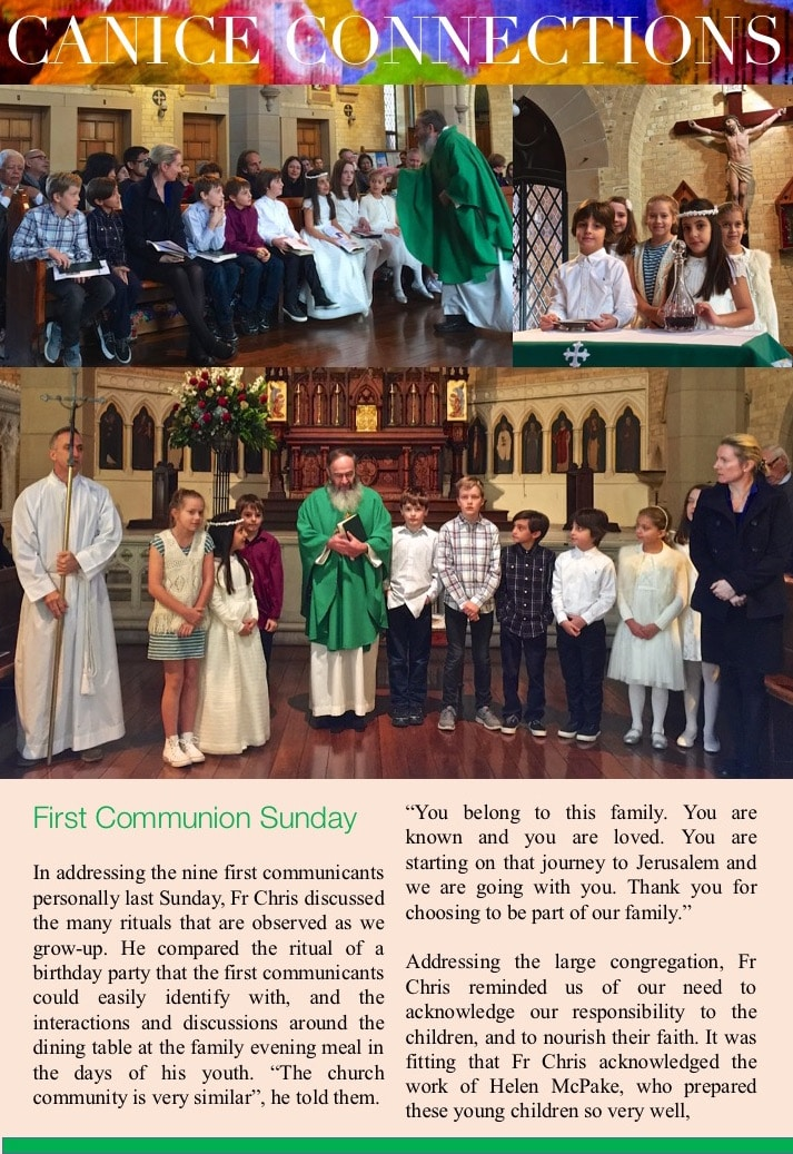 First Communion Jun 2016