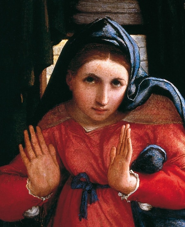 Lorenzo Lotto, The Annunciation - Mary's 'Yes' to her God
