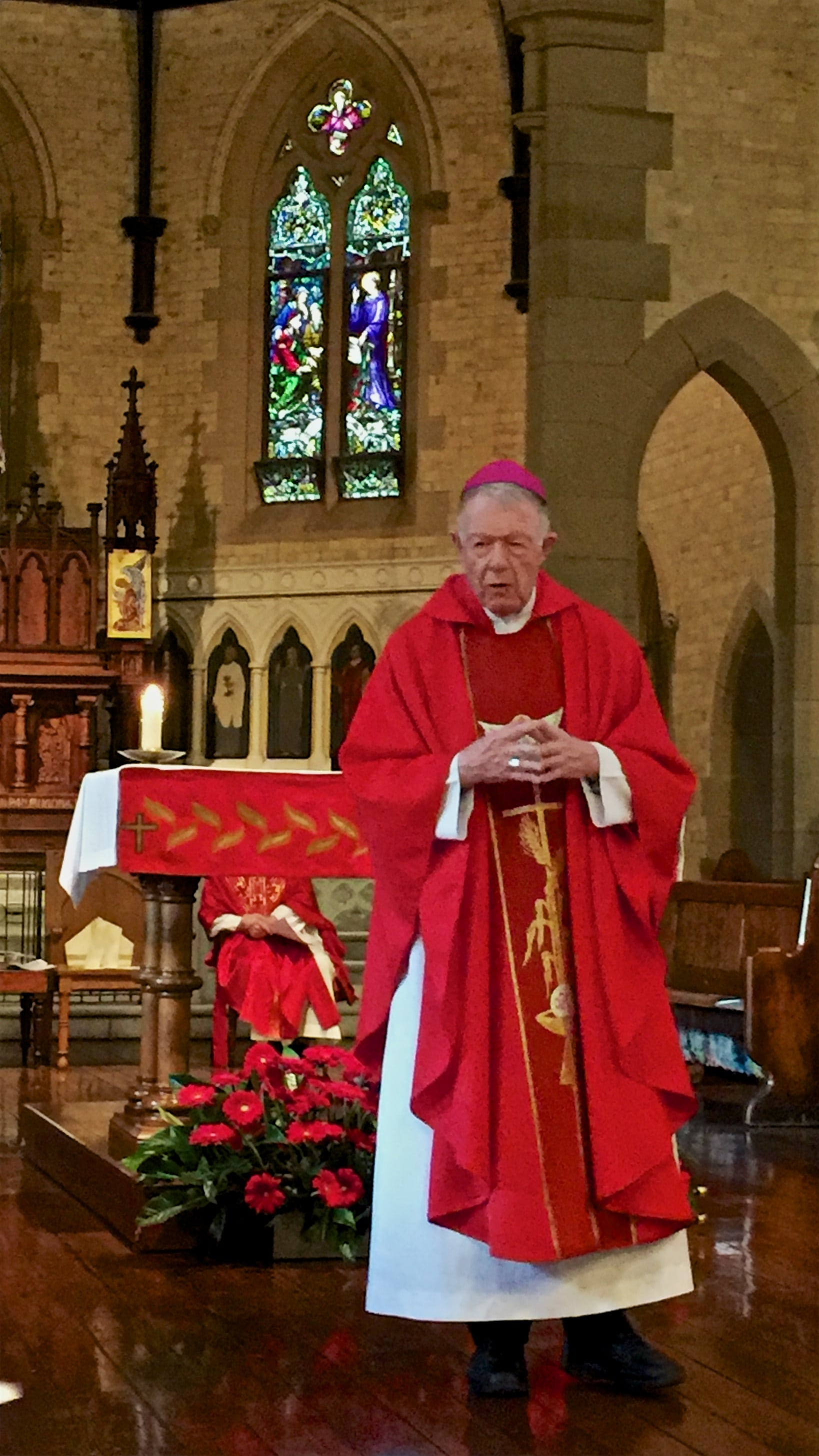 Most Rev Terence Brady, Auxiliary Bishop of Sydney
