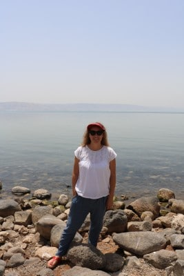 Rachel at the Primacy of Peter, Sea of Galilee
