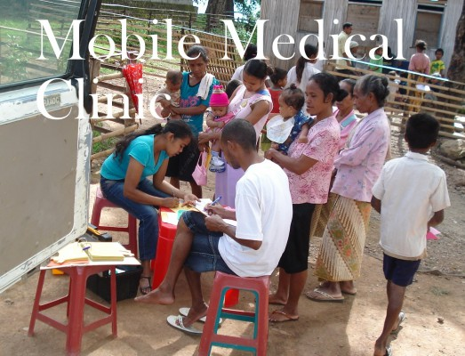 A mobile clinic